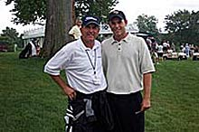 PGA Pro Jay Haas with son Bill