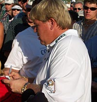 John Daly - A favorite of Canadians