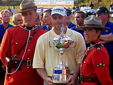 John Rollins - winner of the 2002 Bell Canadian Open